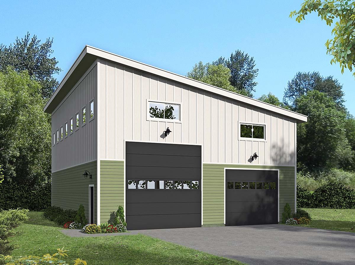 Garage Plan 40874