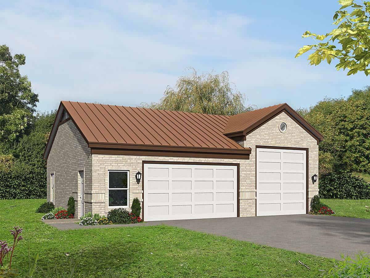 Garage Plan 40875