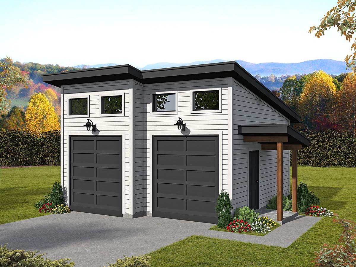 Garage Plan 40880