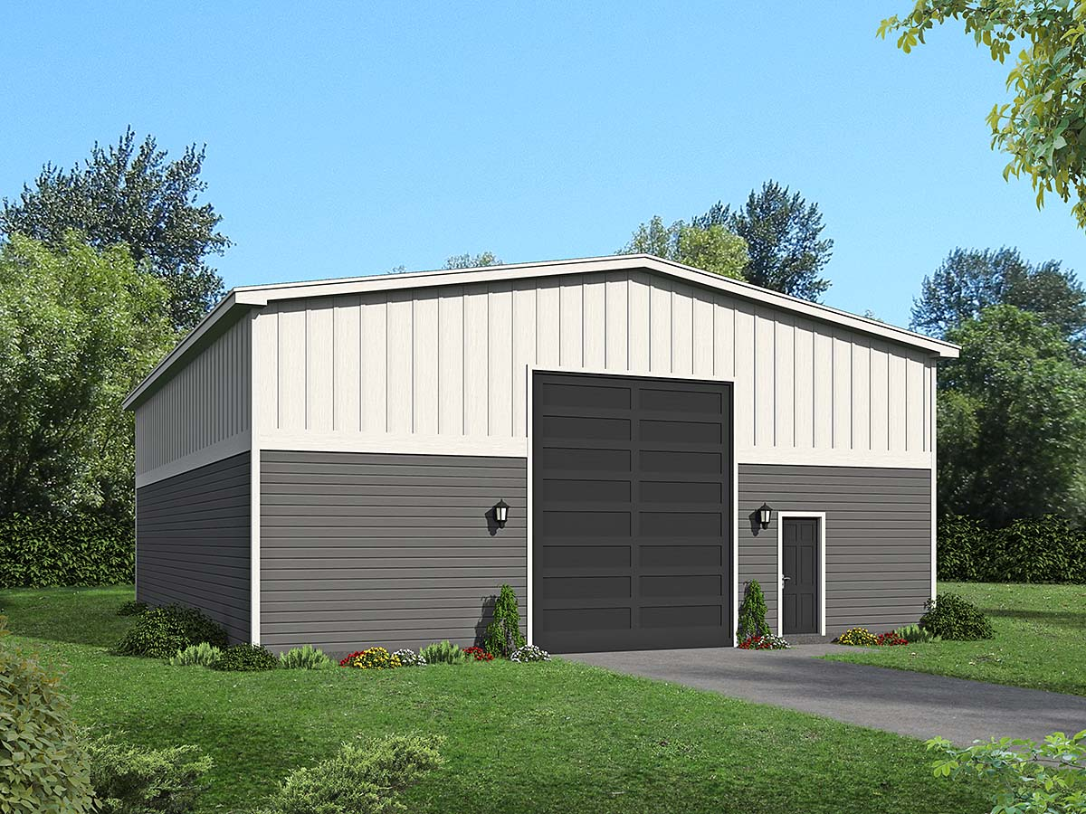 Garage Plan 40882