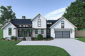 Plan Number 40908 - 2013 Square Feet
