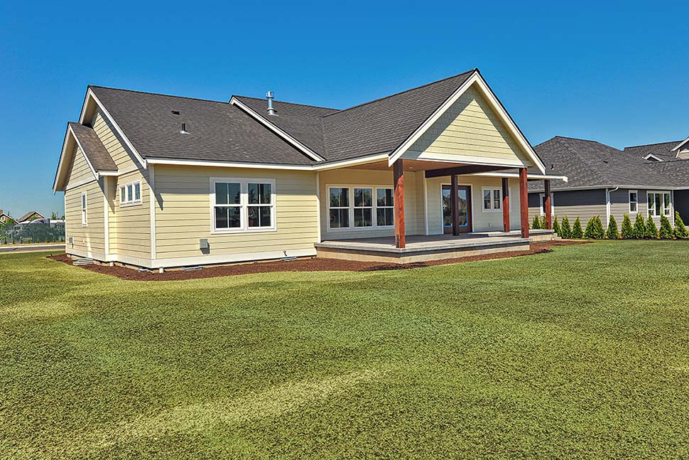 Country, Craftsman, Ranch, Traditional House Plan 40918 with 3 Beds, 2 Baths, 2 Car Garage Picture 4
