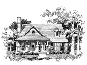 Plan Number 41003 - 1694 Square Feet