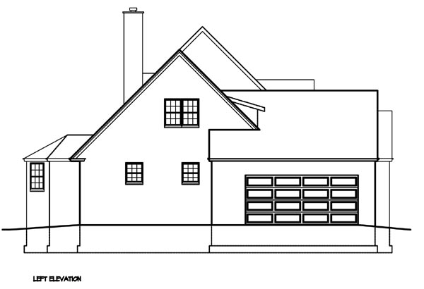 Cape Cod, Country, Southern House Plan 41004 with 3 Beds, 3 Baths, 2 Car Garage Picture 1