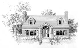 Plan Number 41008 - 1749 Square Feet