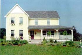 Country , Farmhouse House Plan 41014 with 3 Beds, 2 Baths Elevation