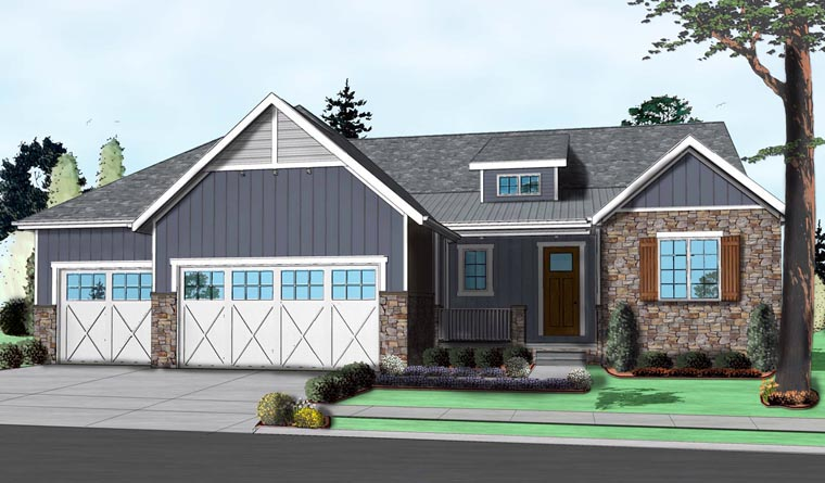 Traditional House Plan 41105 Elevation
