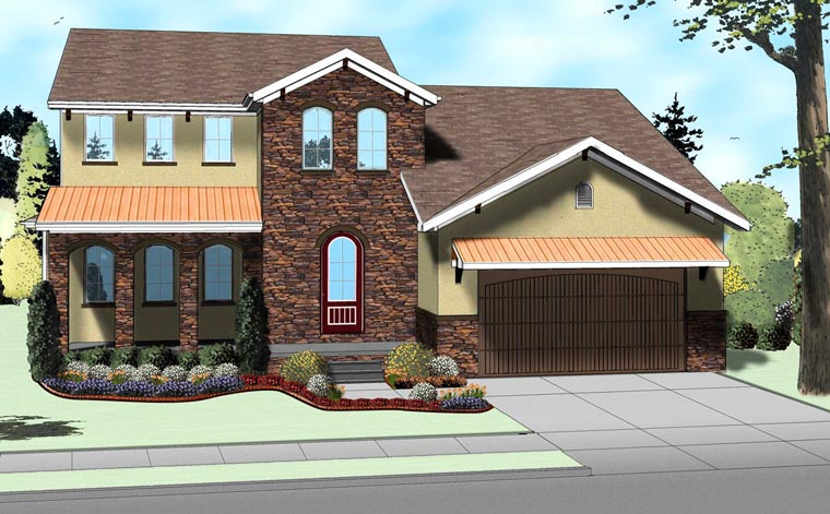 Traditional House Plan 41106 Elevation