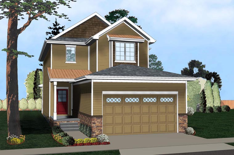 Traditional House Plan 41115 Elevation