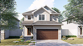 Traditional House Plan 41116 Elevation