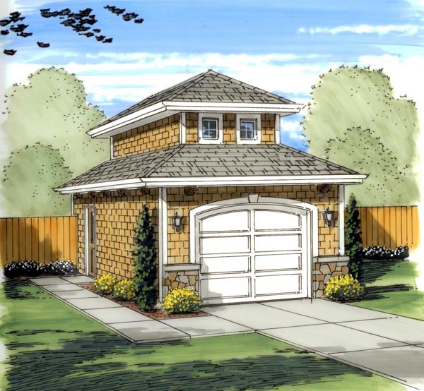 Mediterranean Traditional Garage Plan 41134 Elevation