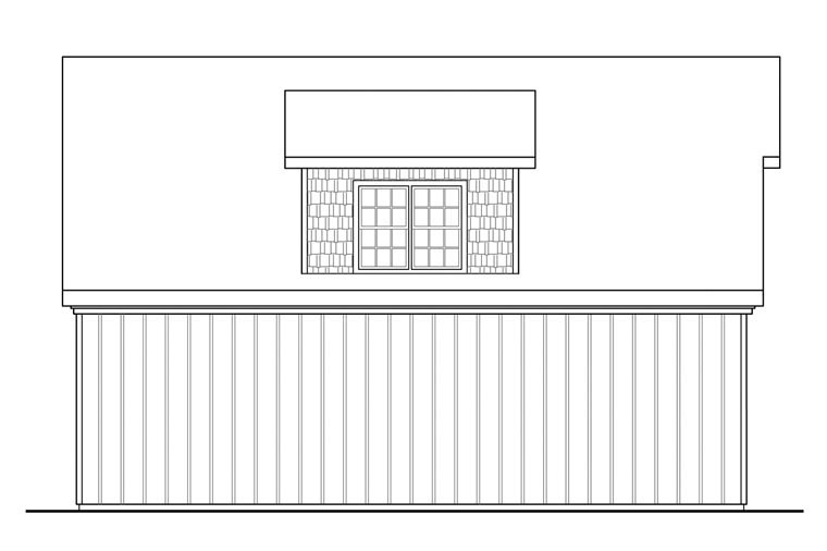 Craftsman 3 Car Garage Plan 41150 Picture 1