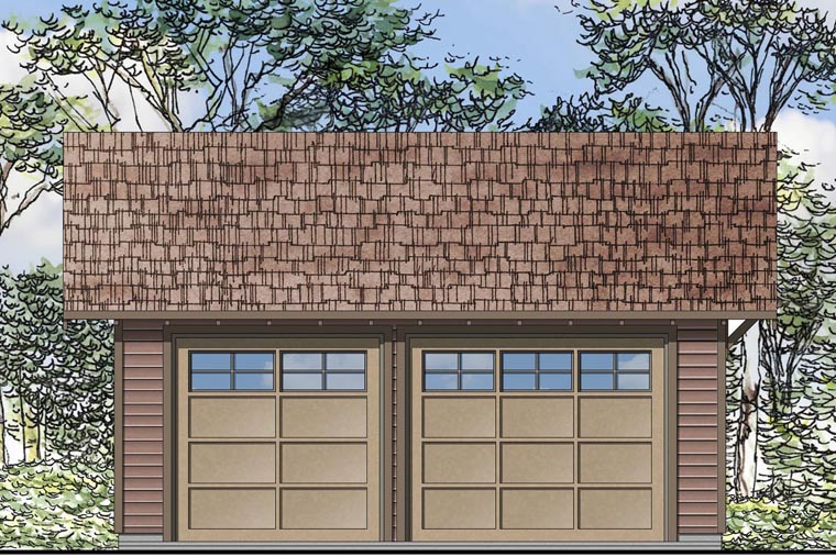 Country Garage Plan 41151 Elevation