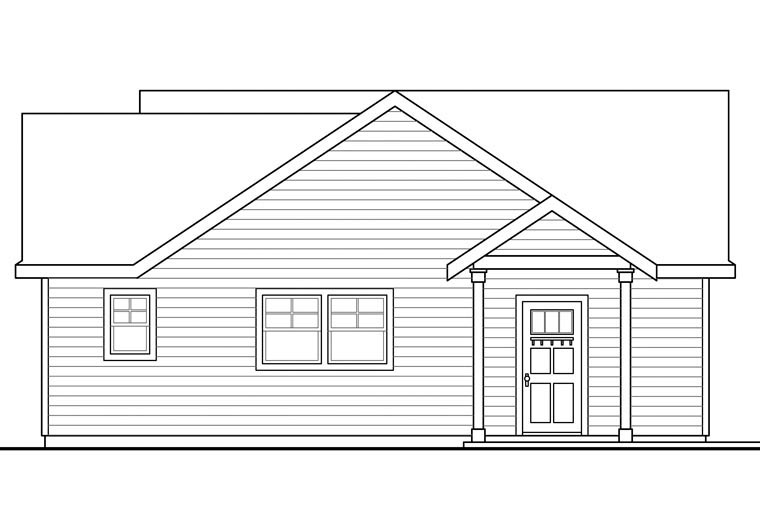 Traditional 2 Car Garage Apartment Plan 41152 Picture 1