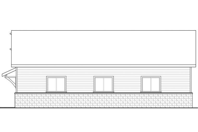 Traditional 4 Car Garage Plan 41155 Picture 2