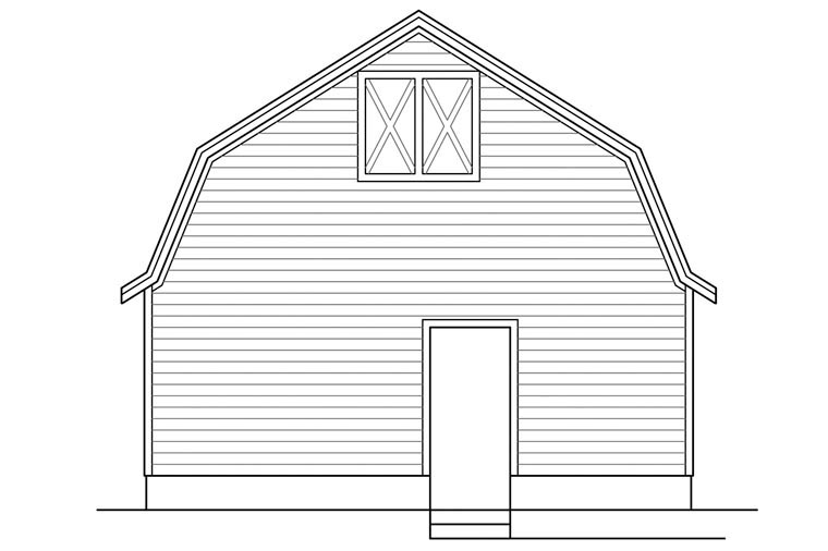 3 Car Garage Plan 41157 Picture 1