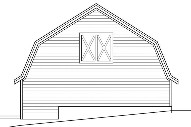 3 Car Garage Plan 41157 Picture 2