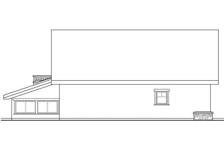 European 2 Car Garage Apartment Plan 41158 Picture 1