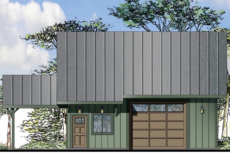 Craftsman Garage Plan 41160 Elevation