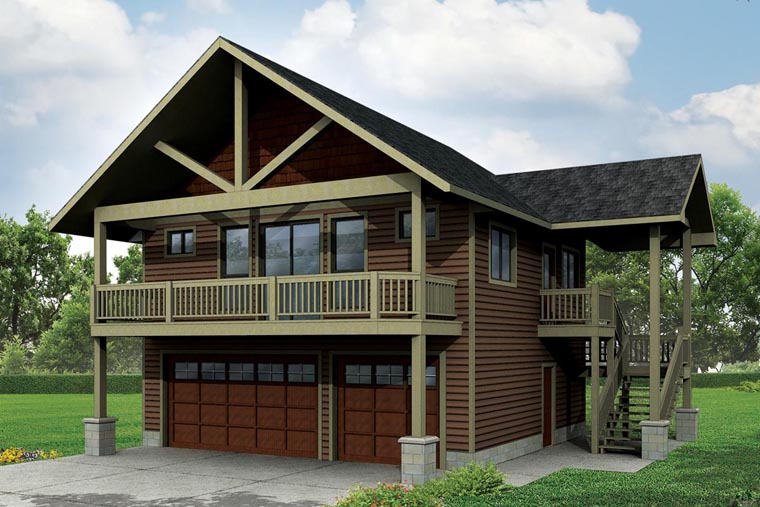 Garage Plan 41162 At