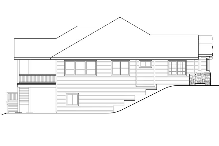 Cottage, Country, Craftsman, Traditional House Plan 41208 with 3 Beds, 3 Baths, 4 Car Garage Picture 1