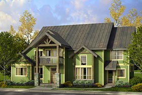 Country Craftsman Southern House Plan 41210 Elevation