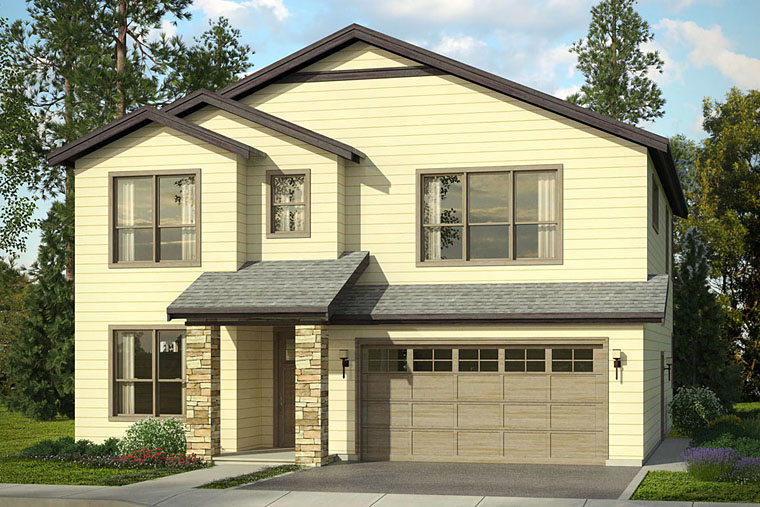 Country Traditional House Plan 41215 Elevation