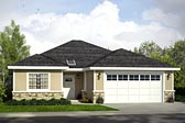 Plan Number 41220 - 1497 Square Feet