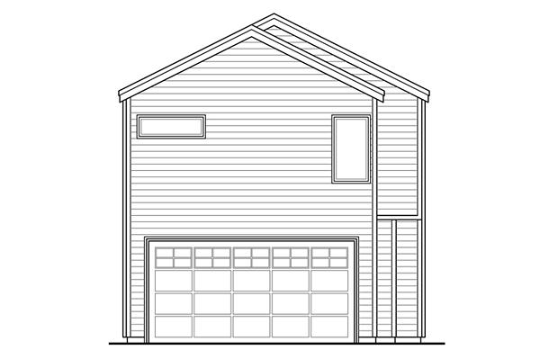 Contemporary Florida Southwest House Plan 41222 Rear Elevation