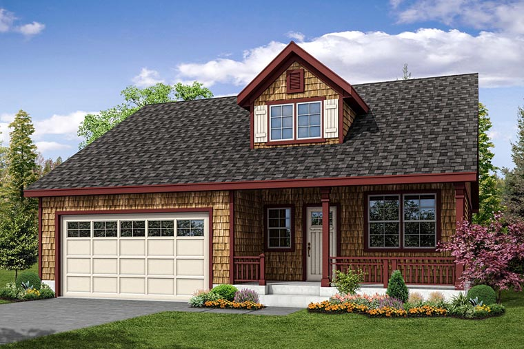 Cottage Country Ranch House Plan 41235 Elevation