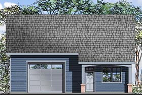 Traditional House Plan 41244 Elevation