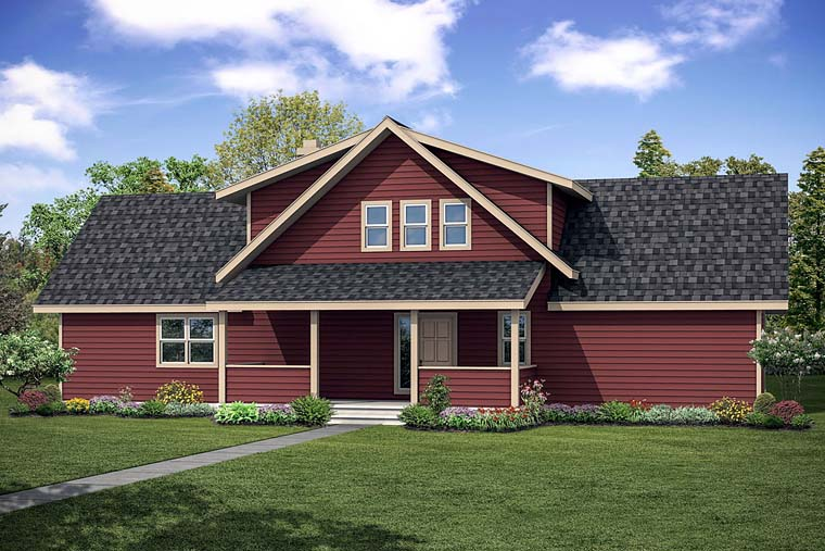 Cottage Country House Plan 41252 Elevation