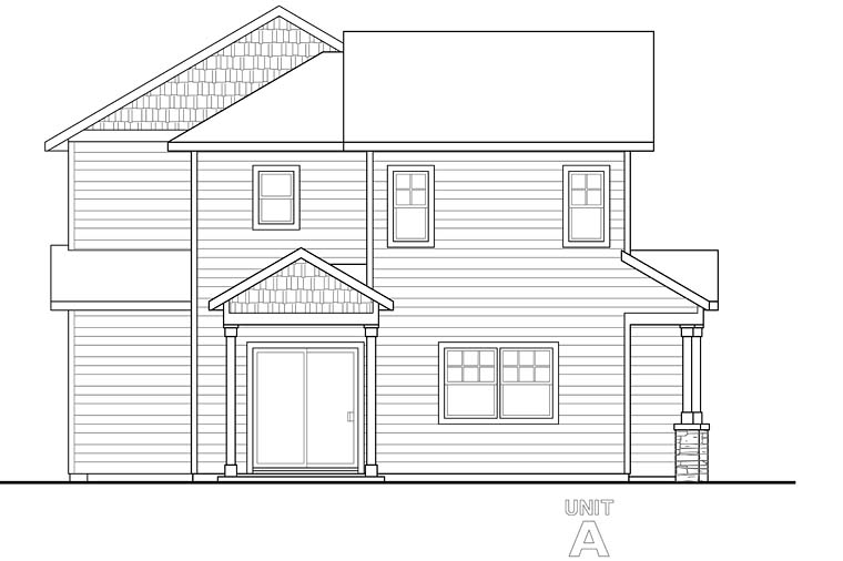 Contemporary, Cottage, Country Multi-Family Plan 41260 with 6 Beds, 6 Baths, 4 Car Garage Picture 1