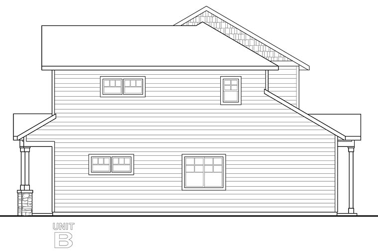 Contemporary, Cottage, Country Multi-Family Plan 41260 with 6 Beds, 6 Baths, 4 Car Garage Picture 2