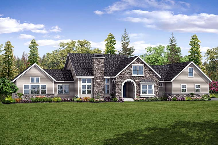 Country Southern Traditional House Plan 41266 Elevation