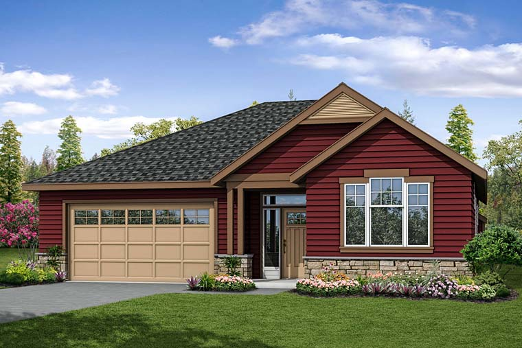 Cottage Country Traditional House Plan 41272 Elevation