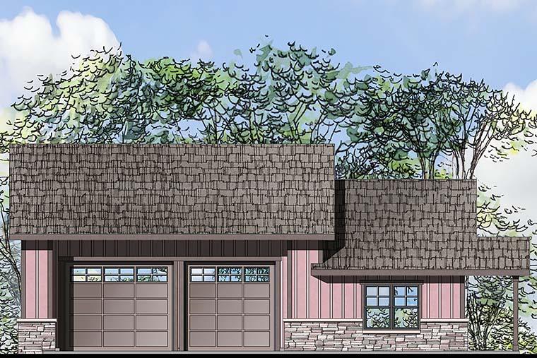 Craftsman Garage Plan 41282 Elevation