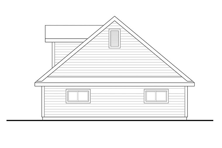 Country 2 Car Garage Plan 41288 Picture 1