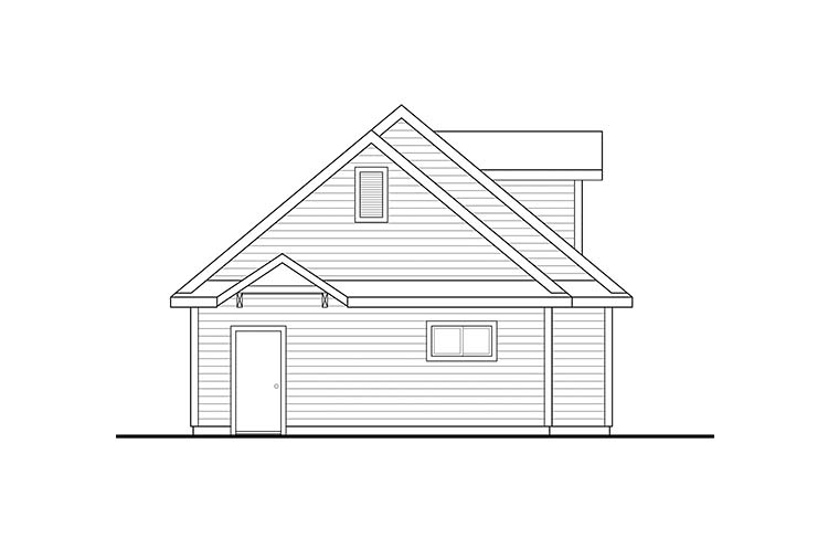 Country 2 Car Garage Plan 41288 Picture 2