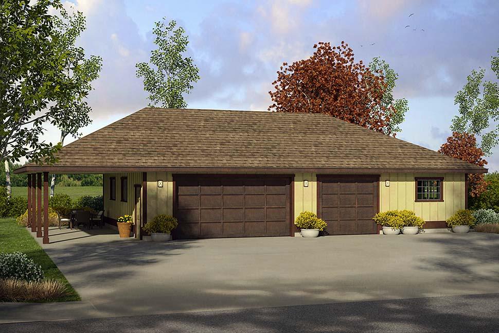 Garage Plan 41295