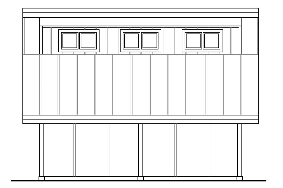Contemporary, Country 0 Car Garage Plan 41306 Picture 1
