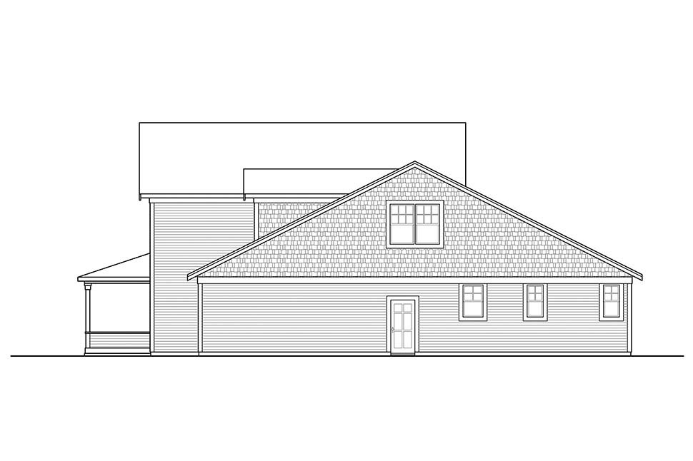 Farmhouse, Traditional House Plan 41325 with 3 Beds, 3 Baths, 2 Car Garage Picture 1