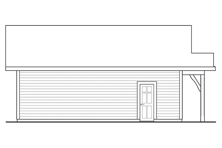 Cottage 2 Car Garage Plan 41331 Picture 2