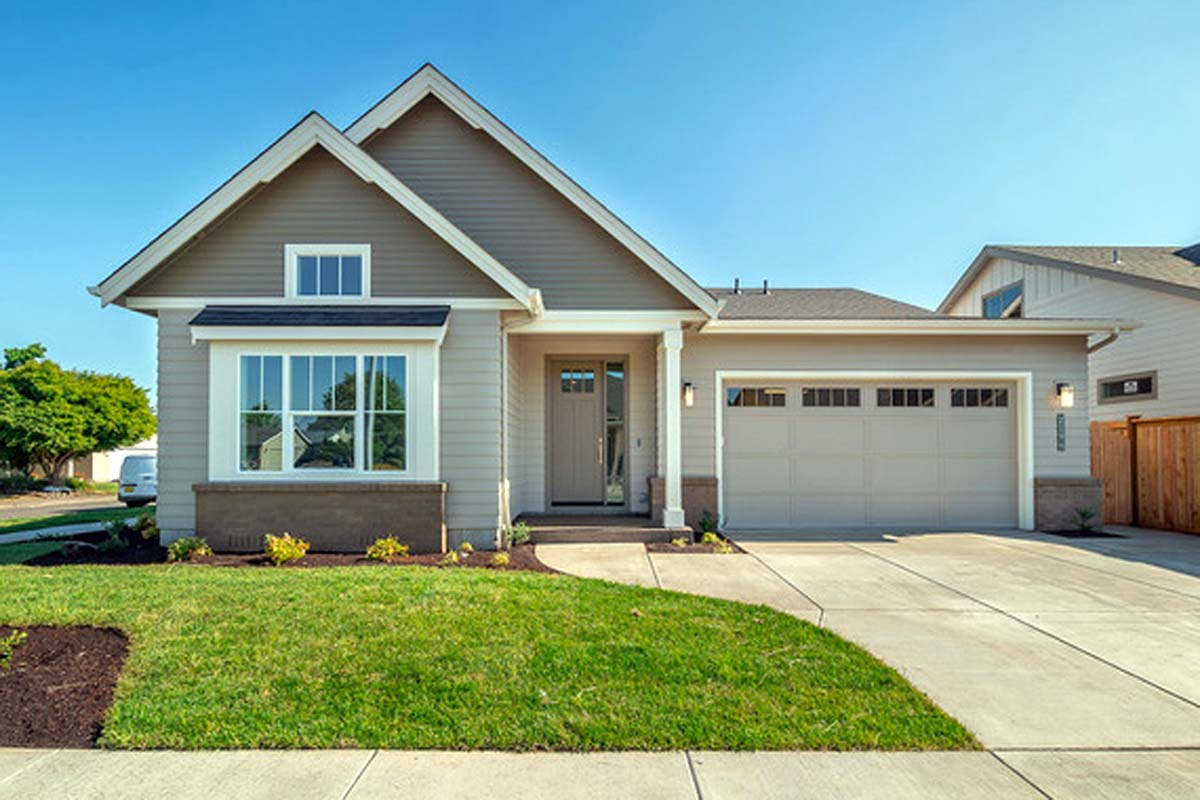 Bungalow, Craftsman House Plan 41346 with 3 Beds, 2 Baths, 2 Car Garage Picture 1
