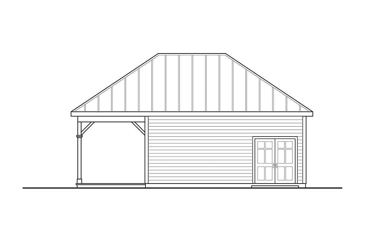 Cottage Workshop Plan 41361 Picture 1