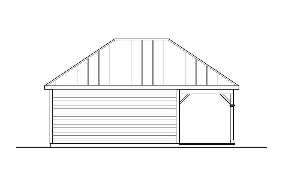 Cottage Workshop Plan 41361 Picture 2