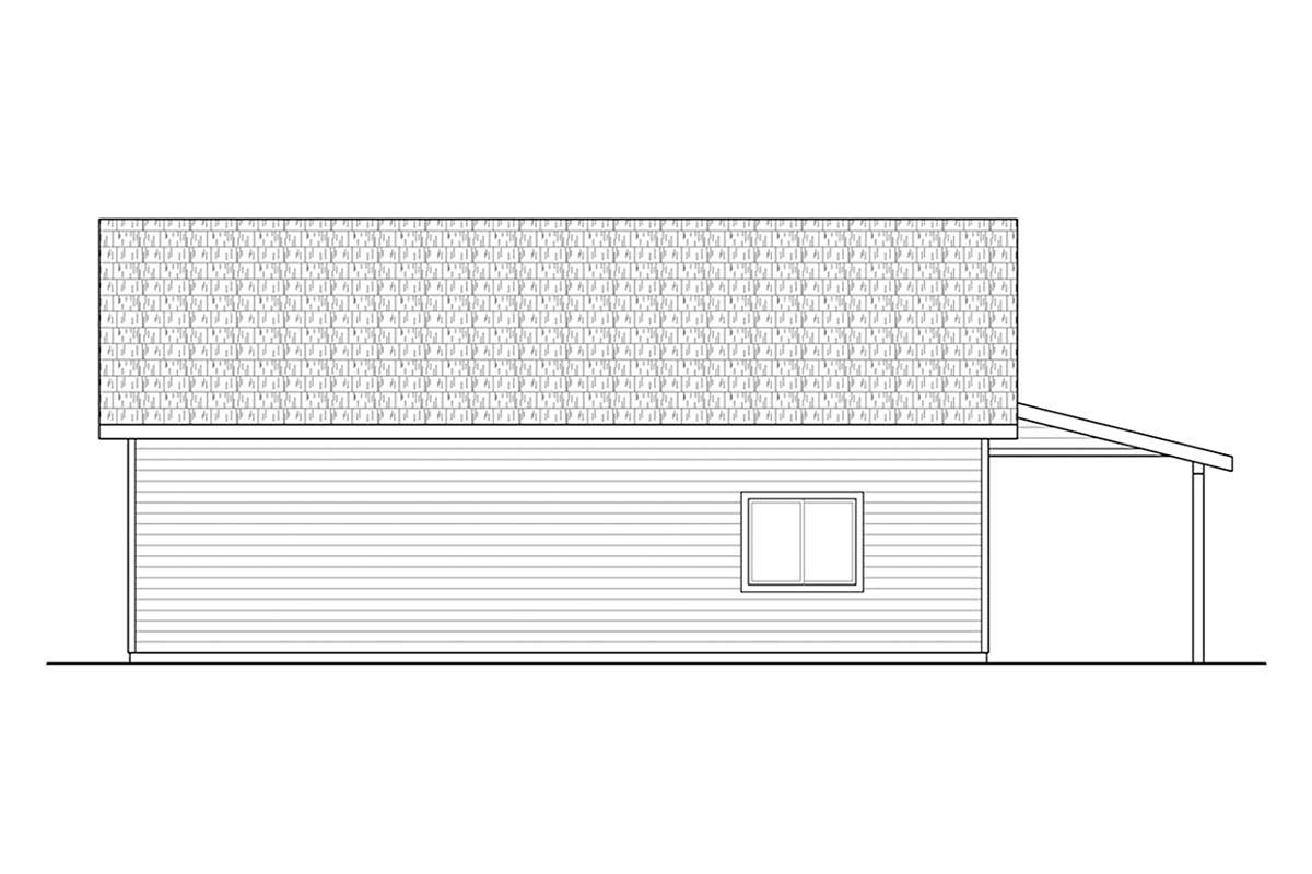 Country, Craftsman 2 Car Garage Plan 41367 Picture 1