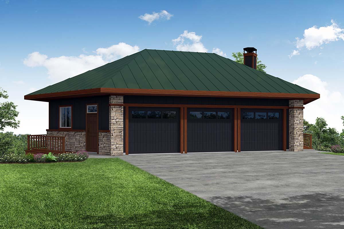 Garage Plan 41372