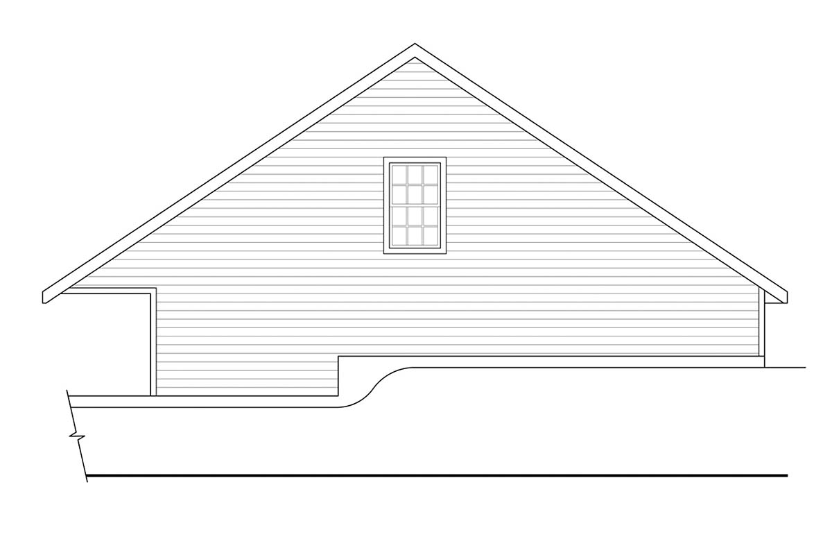 Country, Traditional 3 Car Garage Plan 41373 Picture 1