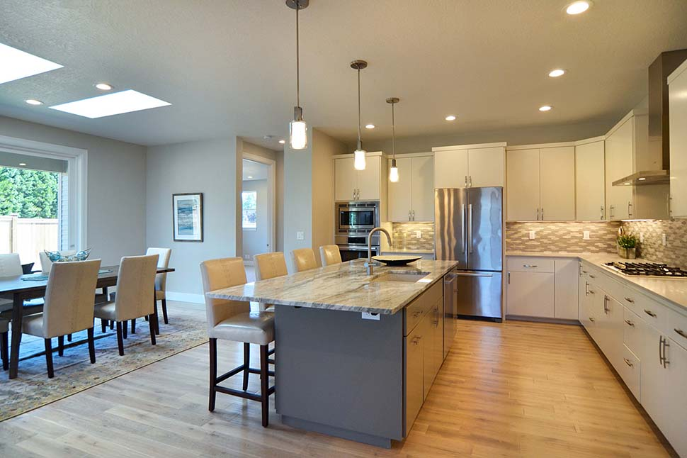 Modern, Prairie, Ranch House Plan 41389 with 3 Beds, 2 Baths, 2 Car Garage Picture 14